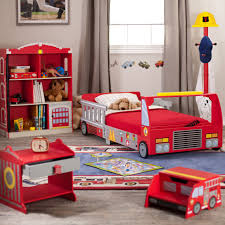 kidkraft firetruck hydrant toddler bedside table 76024 hayneedle