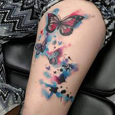 butterfly tattoos on legs 30 traditional designs ideas