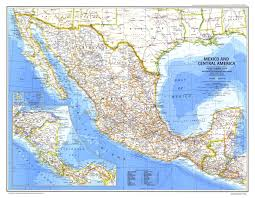 Central America Map And Capitals by Physical Map Of Mexico And Central America Political Map Of South