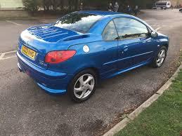 peugeot 206 cabriolet peugeot 206 convertible blue alloys etc in brighton east