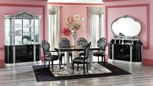carolina dining room steve silver dining room hailee curio with casters at carolina
