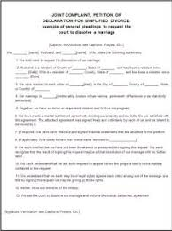 divorce forms free word templates
