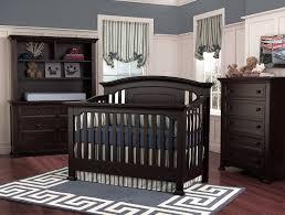 Nursery Furniture Set by Decor Cool Black Wood Stained Munire Baby Furniture Crib Nursery