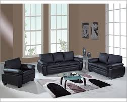 black leather living room set martino black 6 pc leather power