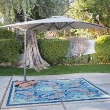 Patio Umbrellas Offset Offset Patio Umbrellas Hayneedle