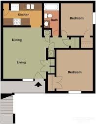 the residence at okemah floor plans