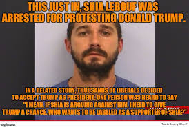 Shia Labeouf Meme - the star of the movie holes is no role model for anyone imgflip