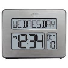Cool Digital Clocks Shop Amazon Com Desk U0026 Shelf Clocks