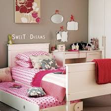Teen Room Featured Cool White Trundle Bed Frame Design Plus