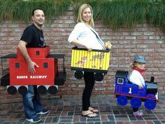 Conductor Halloween Costumes Train Conductor Diy Thomas Train Family Costumes
