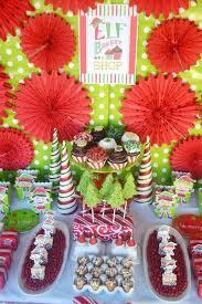 elf holiday cookie decorating party printables birdsparty com