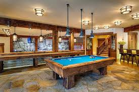 Pool Table Ceiling Lights Pool Table Light Pool Table Lights Basement Rustic With Ceiling