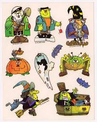 Halloween Stickers 80s Stickers Branded In The 80s Page 4