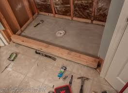 Installing Tile Shower Pan Shower Build Tile Shower Home Design Ideas And Pictures Stirring