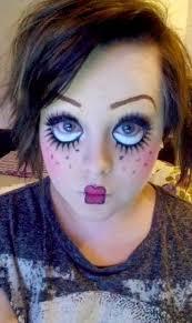 Scary Baby Doll Halloween Costume Diy Diy Halloween Scary Doll Makeup Halloween
