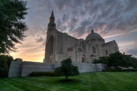 The National by Photographing The Basilica Of The National Shrine Of The