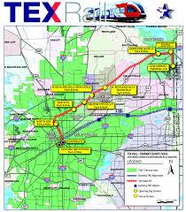 Dfw Terminal Map Tex Rail Coming In 2018 Grapevine Texas Grapevine Tx