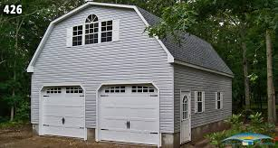 Gambrel Roof Garages by Wonderful 2 Story 2 Car Garage 1 2 Car 2 Story Garage Gambrel