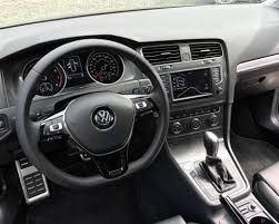volkswagen golf 2017 interior 2017 volkswagen golf alltrack and full line drive dad logic