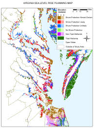 Maps Virginia by Adapting To Global Warming