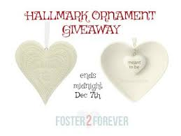 giveaway hallmark adoption keepsake ornaments foster2forever