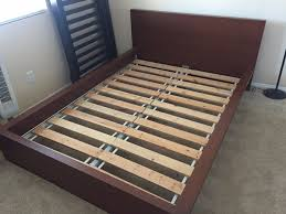 elegant ikea full bed frame solid wood with headboard 67 with