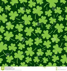 seamless shamrock pattern stock photo image 28301370