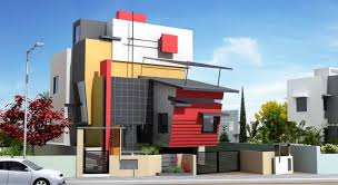 modern house front designs for front of indian house modern house front side design