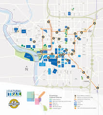 Zip Code Map Indianapolis by Map Indianapolis Cultural Trail