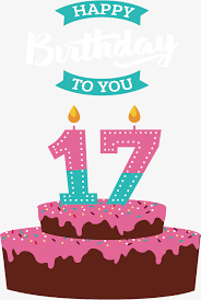 17 birthday cake vector png cake birthday cake png vector
