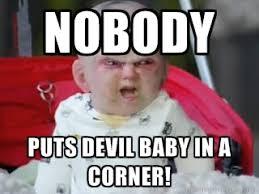 Baby Meme - sweet devil baby meme memes