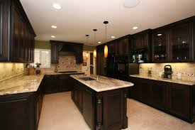 kitchen remodeling contractor cabinets counters flooring light