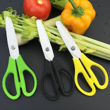 Creative Kitchen Knives Kitchen Knife Ceramic Scissors Food Grade Shears Zirconia Material