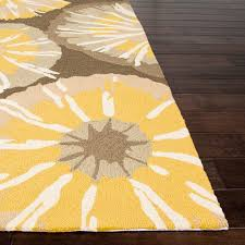 Yellow Outdoor Rug Rugs Curtains Yellow Starburst Indoor Outdoor Rug For Awesome