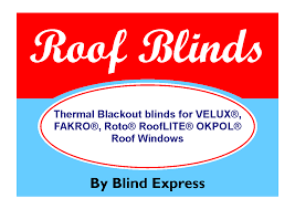blinds for roof windows