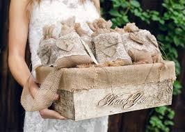 burlap wedding favor bags set of 50 burlap wedding favor bags and big basket rustic wedding