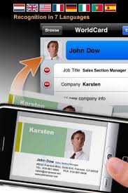 Business Card Capture App 4 Useful Business Card Scanner Apps For Iphone Enfew