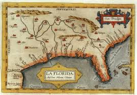 Florida Towns Map Maps And The Beginnings Of Colonial North America Digital