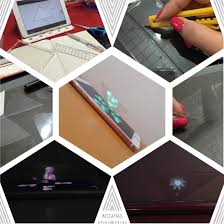 diy hologram projector make a 2d movie pop up as 3d on iphone