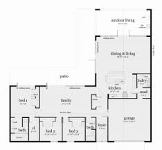 ranch home floor plan house plan charming decoration l shaped ranch house plans floor