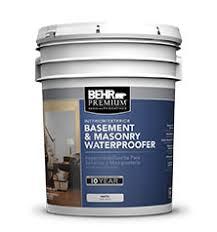 Best Basement Wall Sealer by Behr Premium Basement U0026 Masonry Waterproofer Professional Paint