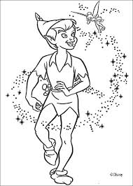 peter pan tinkerbell coloring pages bltidm