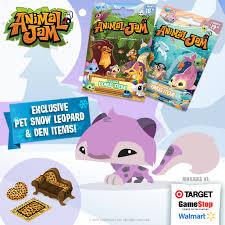 animaljam gift card retail card bonus pet snow leopard the daily explorer