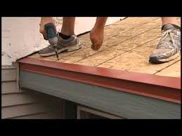 How To Cap A Hip Roof How To Install A Metal Roof Ridge Cap For Union U0027s Masterrib Panel