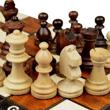 amazon com travel magnetic chess set w wooden 10 4