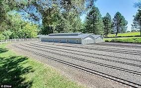 Backyard Trains You Can Ride For Sale See The Astounding 3 5 Million Home With A Scale Model Railway