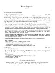 Telecom Sales Executive Resume Sample by Development And Regional Sales Manager Resume