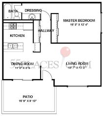 la casita floorplan 717 sq ft laguna woods village