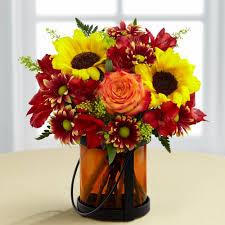 autumn flowers sunflowers and roses autumn flowers ital florist toronto