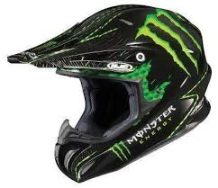 Monster Energy Motocross Helmet Ebay
